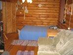 Размещение 2+1 - двуспальная кровать и кресло-кровать