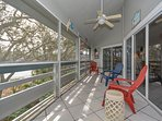 2nd floor, screened in veranda for relaxing or entertaining.
