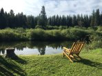 Fish, swim, kayak, or just sit and enjoy the view and peace...