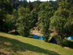 Part of NaturPlac campsite