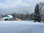 A beautiful winter wonderland.