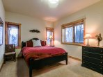 Third bedroom with Queen located on the lower level