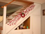Consider spending some holiday time at the cottage and leave the decorating to us!