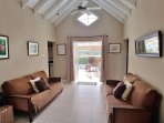 French doors from lounge leading out onto covered terrace