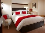 The master bedroom.  Bed fitted with vi-sprung mattress and hypoallergenic bedding.