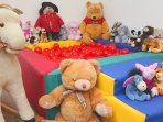 Ball pool in the indoor games room for the under 6's.