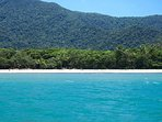 Velvet rainforest and pristine beach meet aquamarine dream at Cape Tribulation