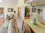 Wonderful spacious living area