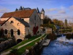 Verteuil-sur-Charente; one of many picturesque villages within easy reach