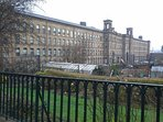Salts Mill a World Heritage Site. Saltaire is a must visit.
