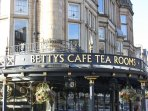 Bettys is a must visit when you go to Harrogate