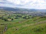 Yorkshire countryside near Oakworth.