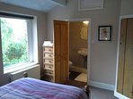 Master double bedroom with upgraded en-suite.