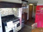 Yorkshire flag stone kitchen.