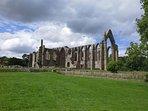 Bolton Abbey ruins.