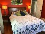 Queen Bed in Bedroom One