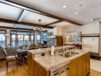 Cooking is no chore at all in this kitchen, with plenty of space on the granite counter tops, and professional-grade...