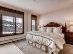 Rest well in the Master Bedroom's king-size bed, and wake up to lookouts over the Beaver Creek slopes.