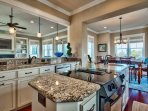 For the culinary inclined, this spacious kitchen will have everything you need.