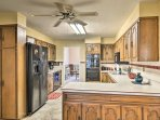 There is plenty of space for extra cooks in the kitchen.