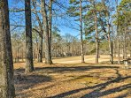 The fairway for the fifth hole of the DeSoto Golf Course is in your backyard.