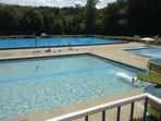 Maribor Island open air swimming pool