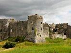 Carew Castle fantastic place to explore