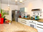 Fully Equipped Kitchen with Granite Counter Top