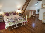 Large bedroom which can accommodate 2 extra folding beds.