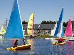 A ten minute drive away, Stithians Lake offers a great day out, on and off the water