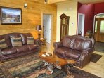 Waters Edge * Nottely Lake Living Area