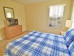 Bedroom 5 showing flatscreen TV