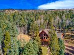 Enjoy the Peaceful, Awesome Mountain Views in this Luxury Cabin and all the Amenities it offers.