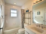 Easily freshen up in one of 2 bathrooms!