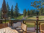 Set a tee time at the Tahoe Donner golf course.