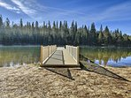 Just down the road is the private community lake where endless fun awaits.