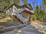 Nestled in the Stanislaus National Forest, this home boasts 1,790 square feet and comfortably sleeps up to 9 guests...