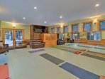 Enjoy weekly yoga classes during your stay.