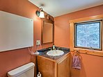 The home comes complete with 2 full baths and 1 half bath.