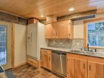 Whip up some tasty meals in this fully equipped kitchen.