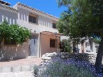 Converted 3 bedroom barn terrace with spectacular views of the Velez Blanco Valley