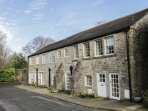 MILL APARTMENT, two-storey apartment in Grade II listed former mill, views of co
