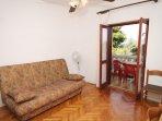 One bedroom apartment Mrljane, Pašman (A-8464-c)