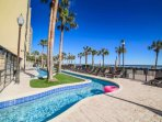 Oceanfront Lazy River for family fun