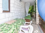 Balcony, Surface: 15 m²
