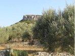 View from the terrace of Casita Almendra