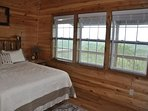Blue View Mountain_Sleeps 6_Queen Bedroom