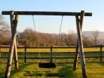 Have a go on our swing in the playground
