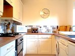 Enjoy cooking in our newly refurbished kitchen or walk to The Pheasant for a bit to eat.