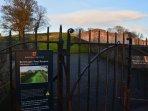 Walks around the wall at Berwick
